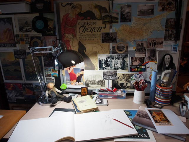 My creative process – January 2014